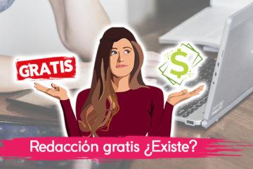 Redacción gratis: 4 motivos para hacerlo