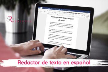 Redactor de textos en español
