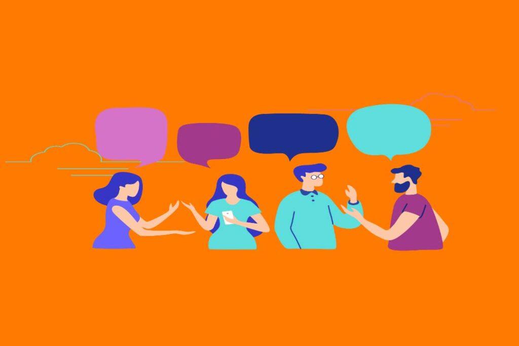texto conversacional